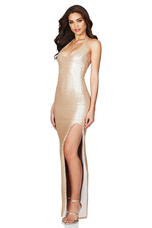 Smoulder Gown Champagne