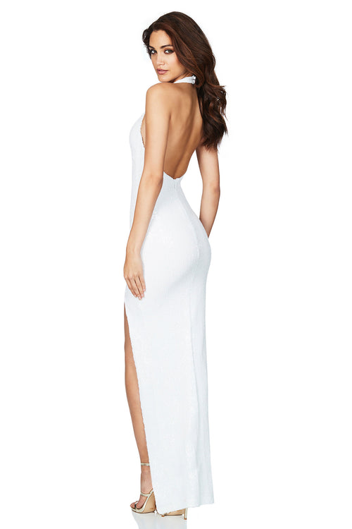 Smoulder Gown White