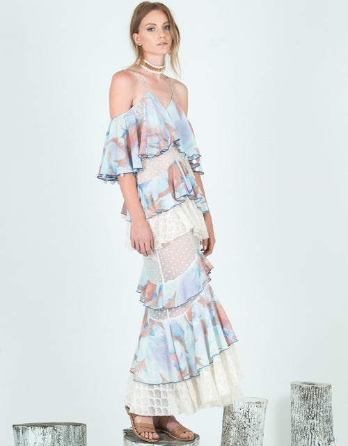 Bow & Arrow Feather Maxi