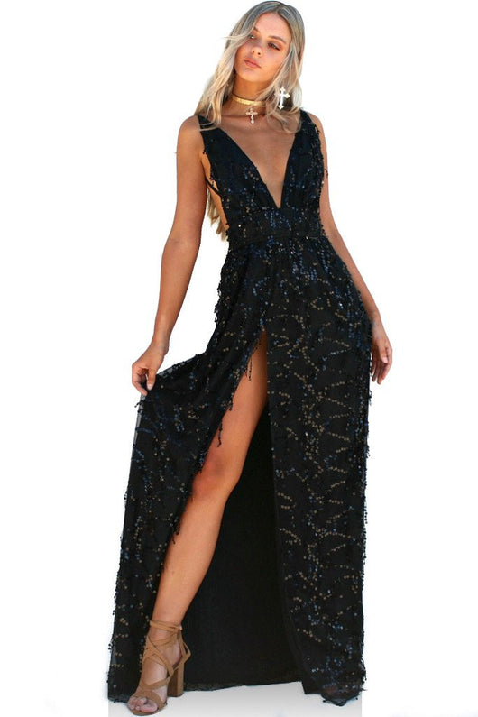 Embellished Night Nymph Gown