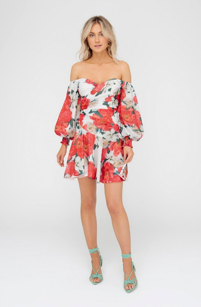 Vivid Bloom Dress