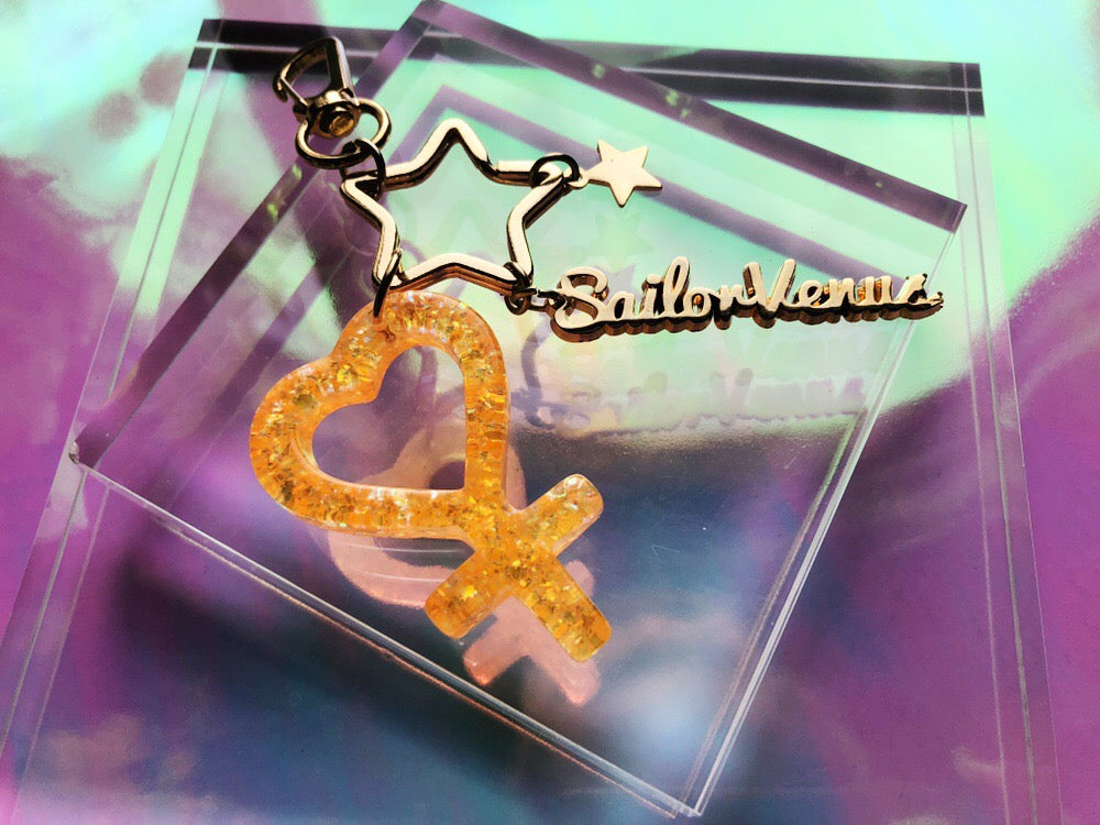 Sailor Venus keychain