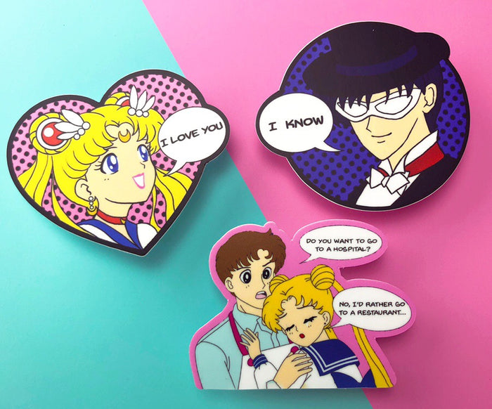 Sailor Moon Pop Art Sticker Pack