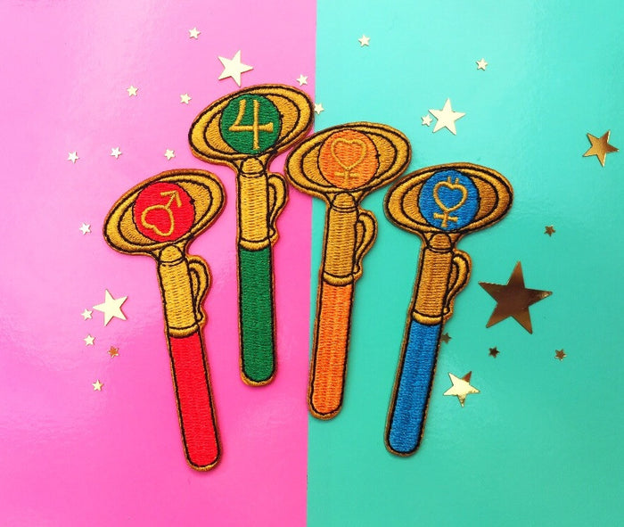 Inner Senshi Magical Girl Gang Patch Set!