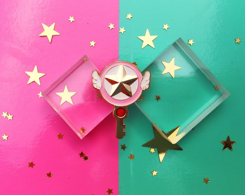 Sakura Star Key Pin