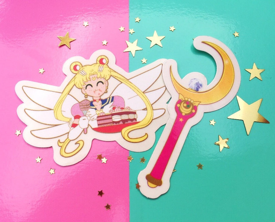 Sailor Moon Sticker set!