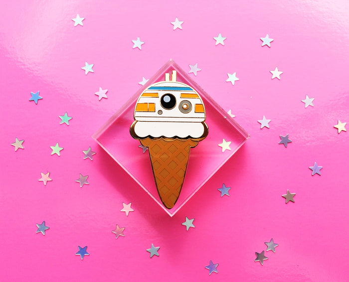 BB-Cone Lapel Pin