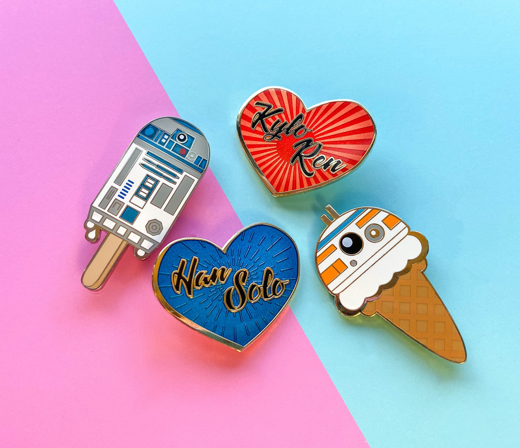 Kylo Ren Heart Pin