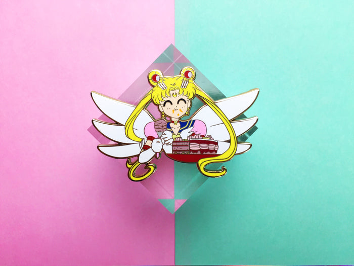 Sailor Moon Eternal Cake Pin