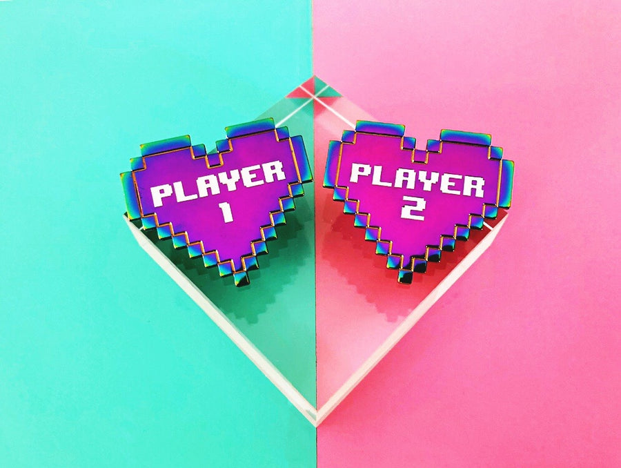 Player 1 & Player 2 ~ Best Friends pin set