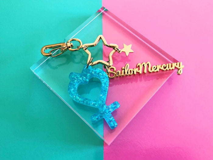 Sailor Mercury keychain
