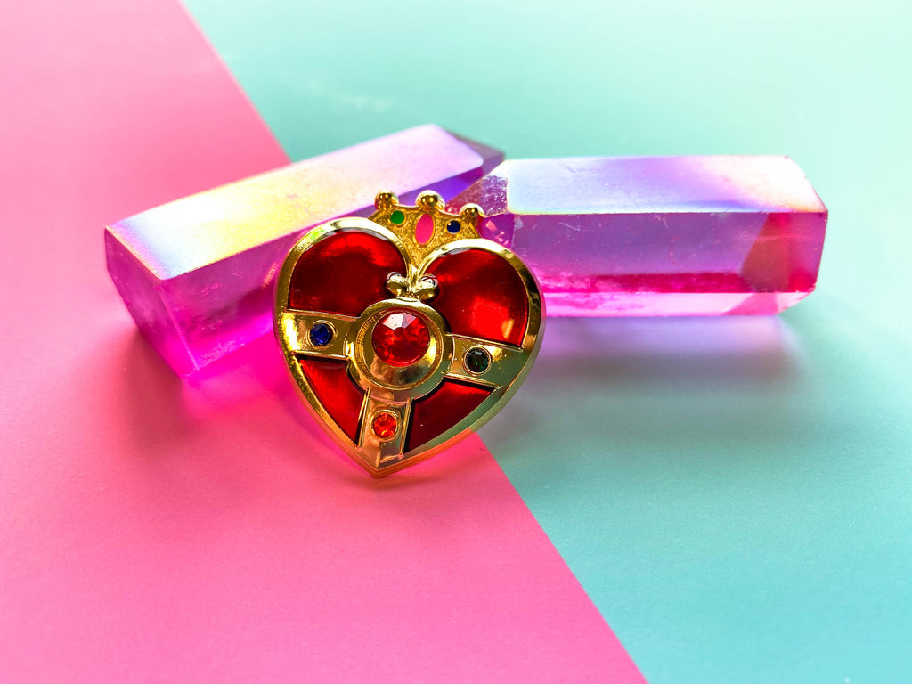 Cosmic Heart Compact pin!