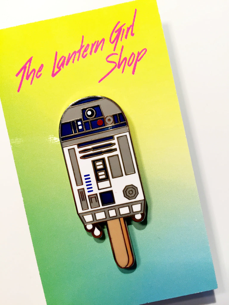 R2Sicle Lapel Pin