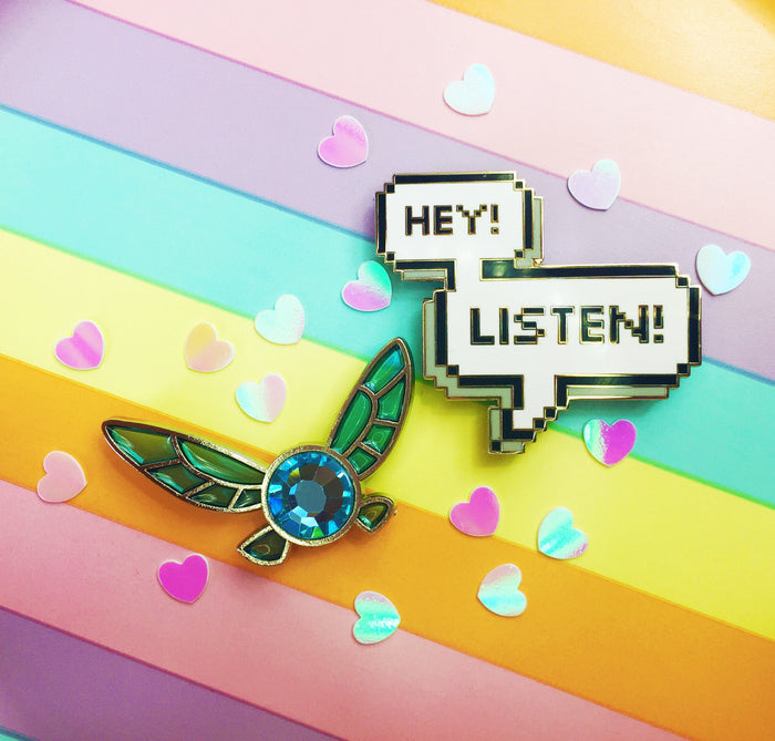 """Hey listen!"" Navi 2 pin set!"