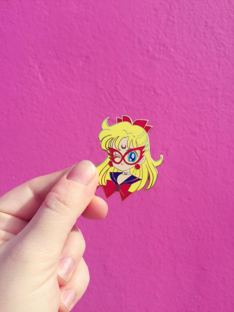 Chibi Sailor V pin