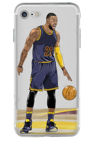 The Legend No#23 King James NBA iPhone Case