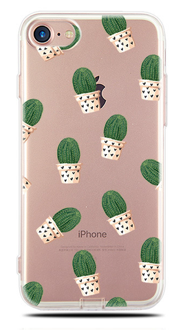 """Caution: Cactus"" Phone Case"