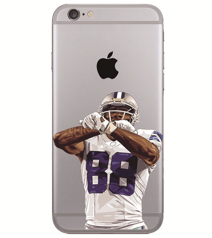 "Dez Bryant Throw Up ""The X"" Phone Case"