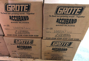 Grote ACCUBAND Band Blades