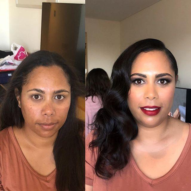 client,hairstylist,kryolanfoundation,mua,hollywoodglam,redlip,sydneystylist,withflayr,stylist,waveyhair,hmua,sydneymobilemakeupartist,beforeandafter,hollywodglamour,retrored,smokeyeye