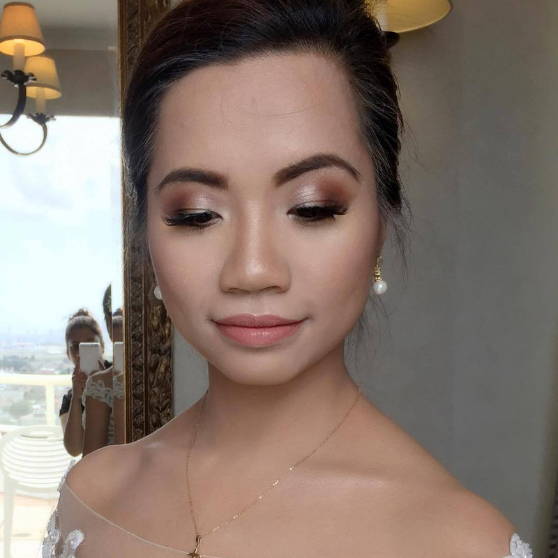 Asian bridal makeup and hair Sydney