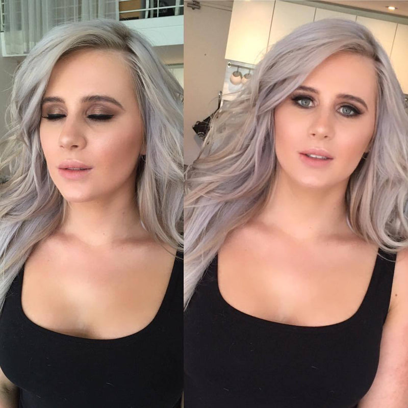Glam makeup and hair in Sydney