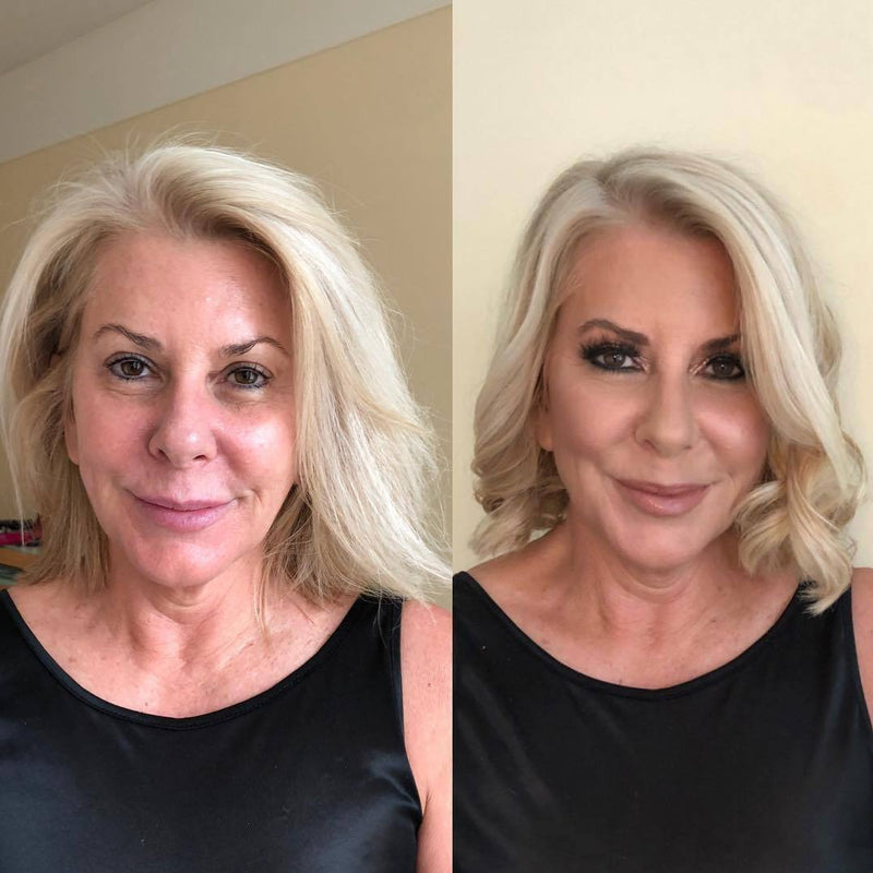 Mature age makeup and hair in Sydney
