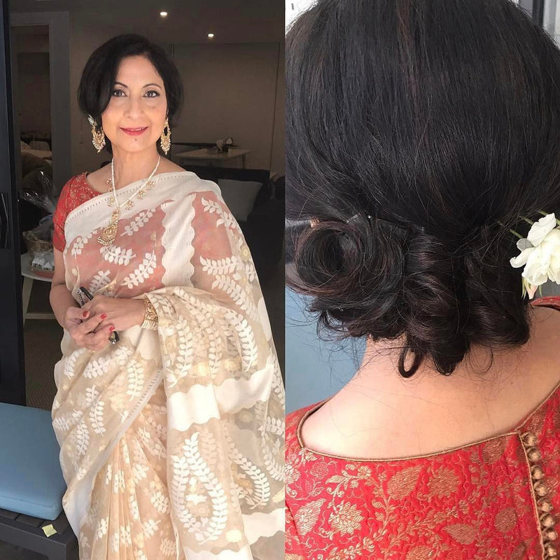 Makeup for the beautiful mother of the groom #withflayr #hairandmakeup #hairandmakeupartist #hmua #mua #mobilehairstylist #mobilemakeupartist #makeupartist #hairstylist #hairstyles #eyes #eyeshadow #motherofthegroom #lipstick #miriam_w #southasianmakeup #southasianmakeupartist #southasianwedding #photooftheday #fashion #love #hudabeauty #sydneyhairstylist #sydneymakeupartist #sydneymua