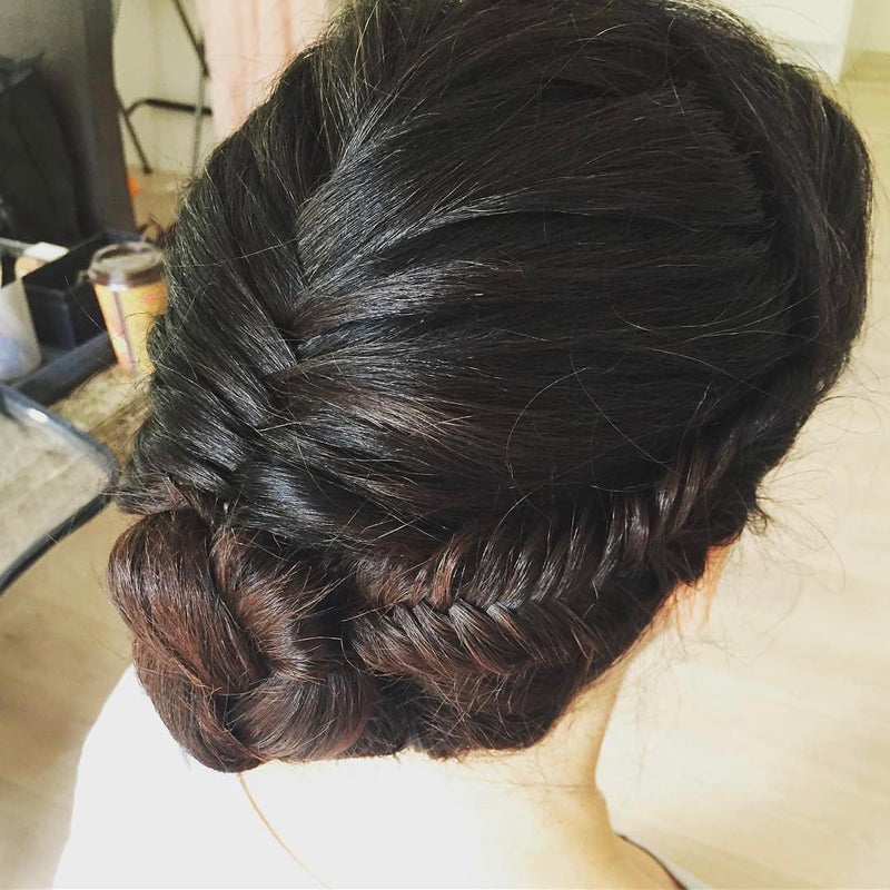 So cool ❤ this hairstyle #withflayr #hairandmakeup #hairandmakeupartist #hmua #mua #hairstylist #hairstyles #braids #wenjia_w #hudabeauty #love #instagood #photooftheday #fashion #art #sydneyhmua #sydneyhairstylist #formal