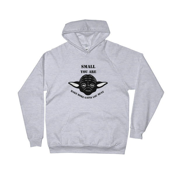 Small You Are Men's Hoodie - CaliforniaSelf