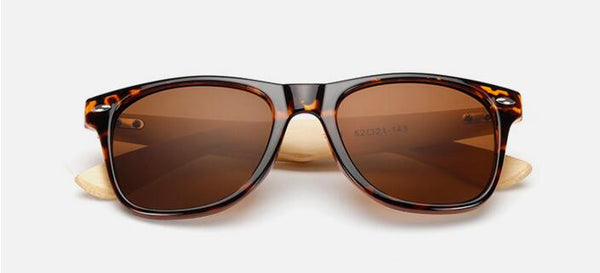 Bamboo Sun Glasses K1501 - CaliforniaSelf