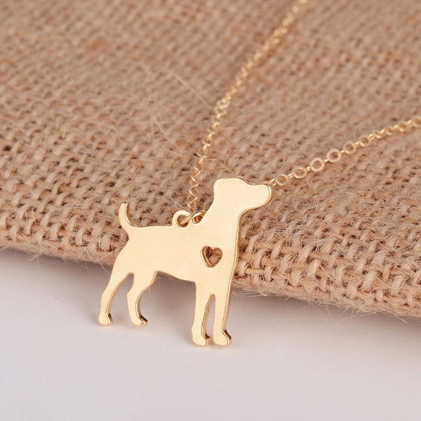 Jack Russell Terrier Necklace - CaliforniaSelf