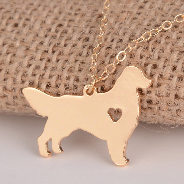 Golden Retriever Necklace - CaliforniaSelf