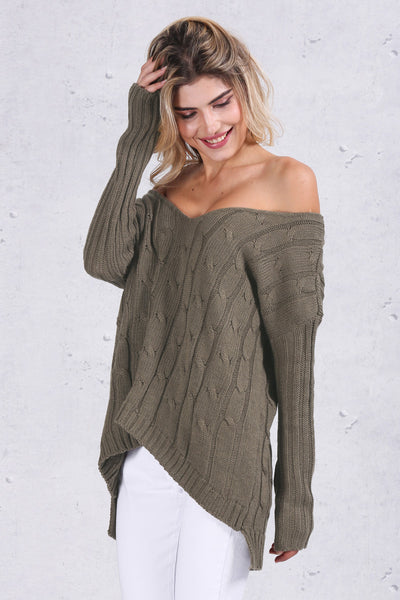 Backless Knitted Sweater - CaliforniaSelf