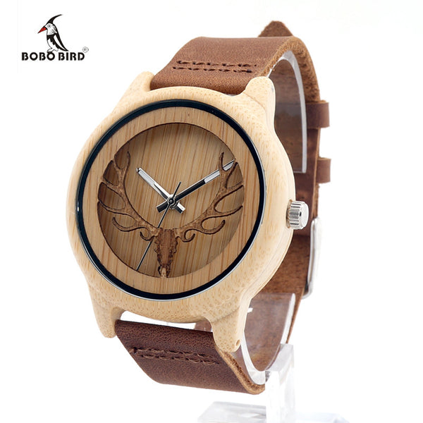 BOBO BIRD Bamboo Wooden Watch A27 - CaliforniaSelf