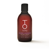 Volumizing shampoo is ideal for oily roots, oily scalp, and fine hair types.