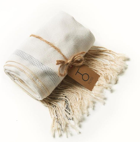 Hammam Towel (White) - to112-ca