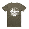 Campsite Tee - Army Green - Camping Cartel