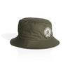 Shackles Print Bucket Hat Camo Green - Camping Cartel