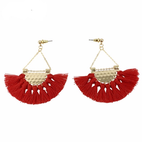 Caravan Tassel Earrings