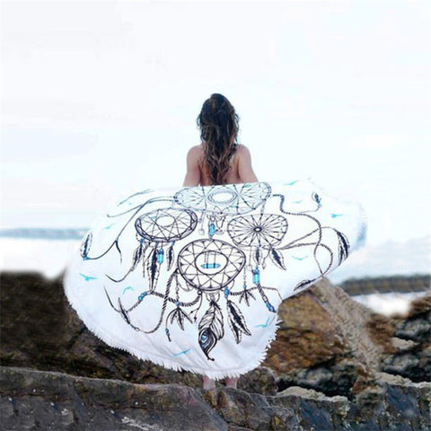 Bohemian Beach Throw