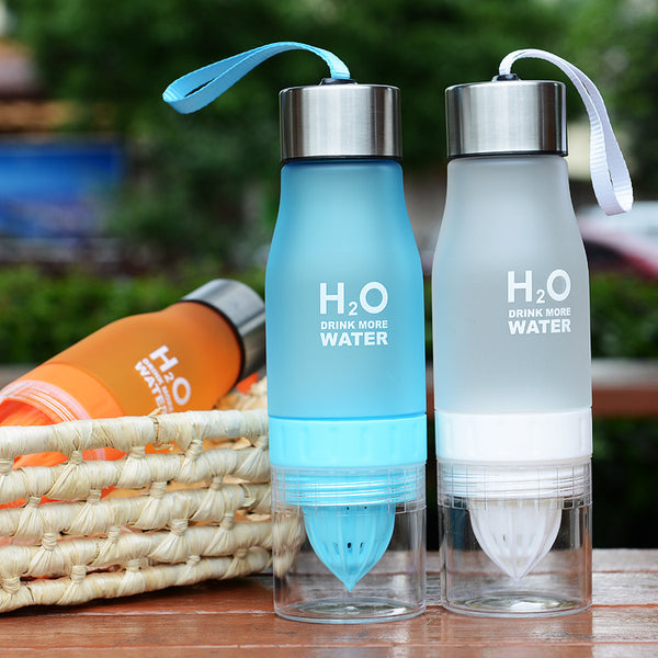 H2O Lemon Juice Water Bottle