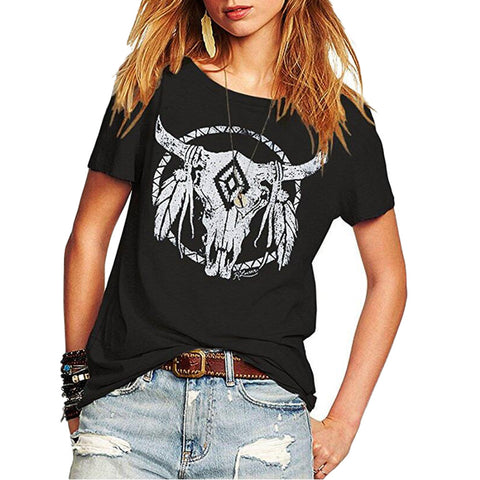 Bohemian Feather T-Shirt