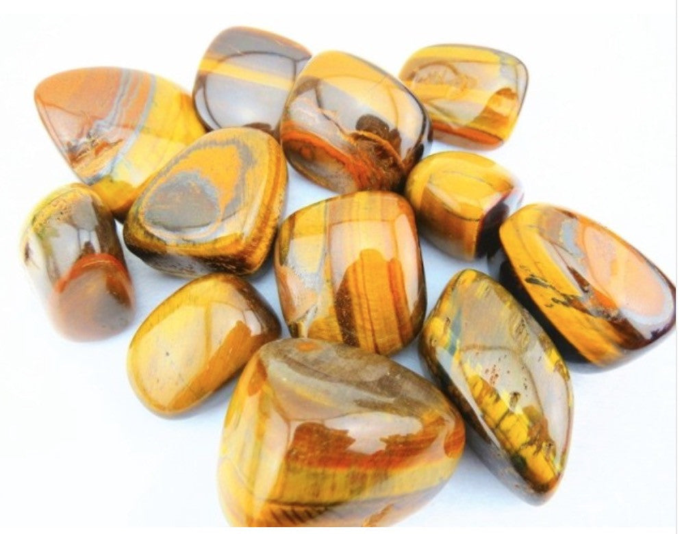 Natural Tiger Eye Stones