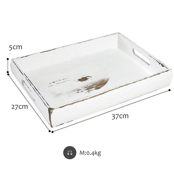 European  Design Wooden Tray