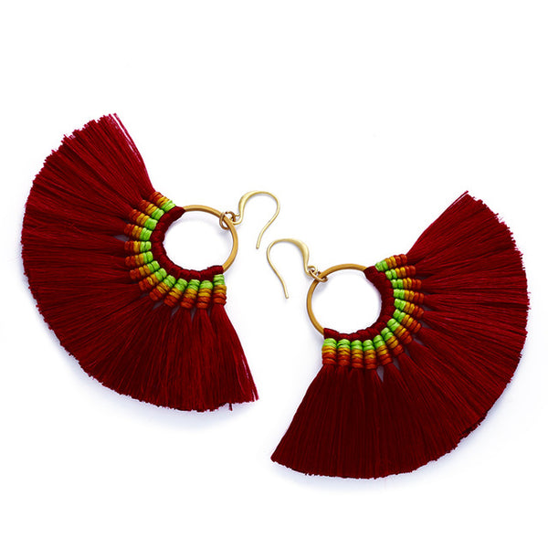 Viviana Tassel Earrings