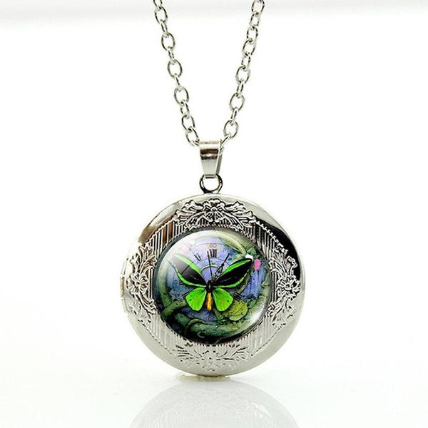 Magnetic Picture Locket Necklace