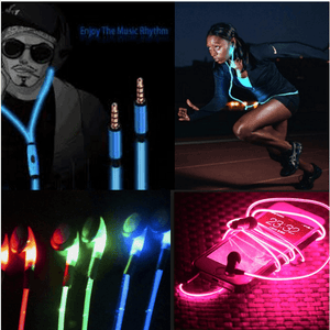 Neon Sounds™ Glowing LED Earphones