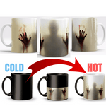 Morphing Zombie Mug! Zombie will appear with Heat