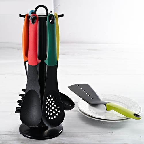 7pcs Carousel Kitchen Utensil Tool Set<p><b>50% OFF TODAY ONLY</b>